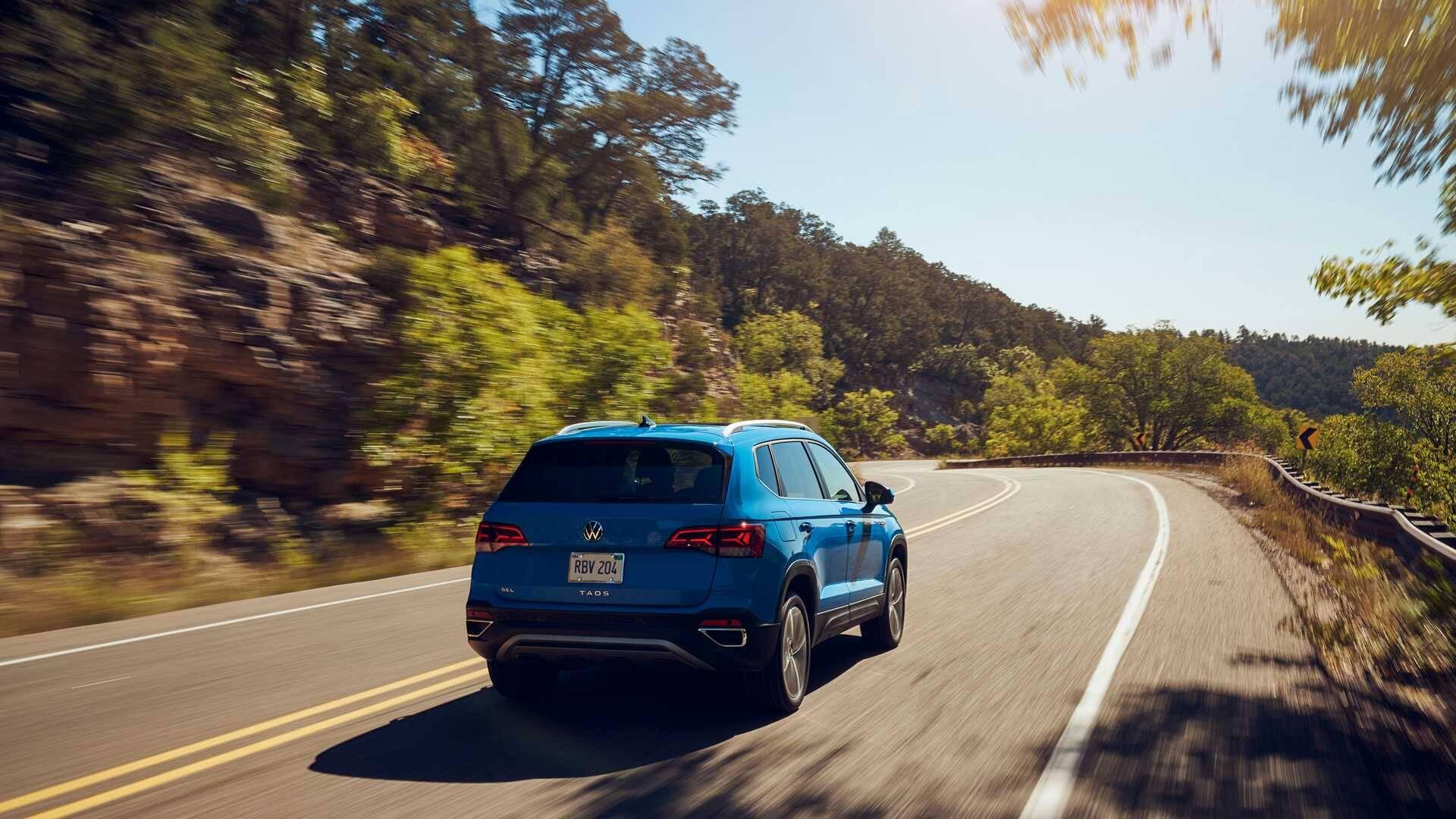 VW Taos. Foto: Divulgação