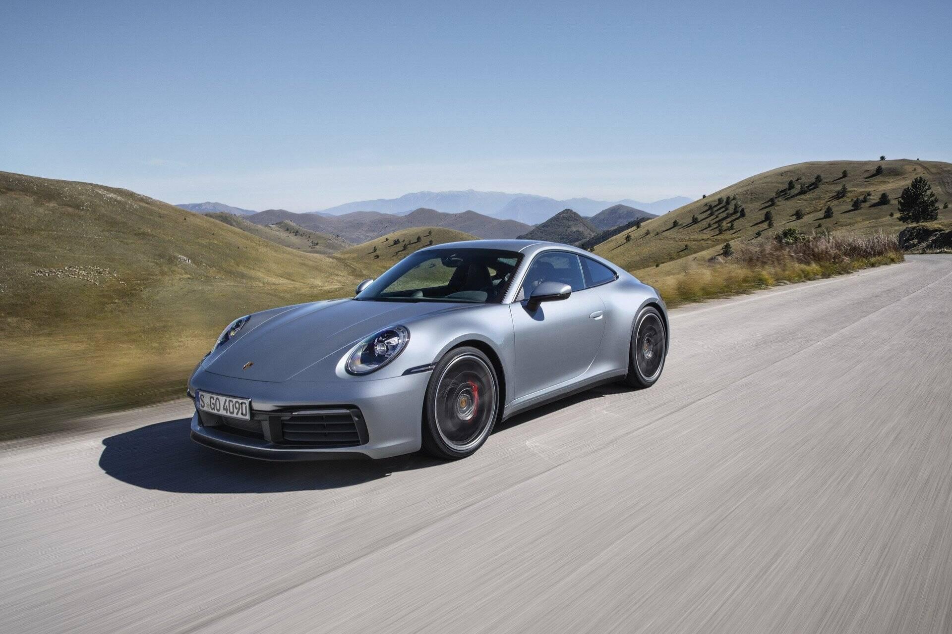 Porsche 911 2020. Foto: Divulgação