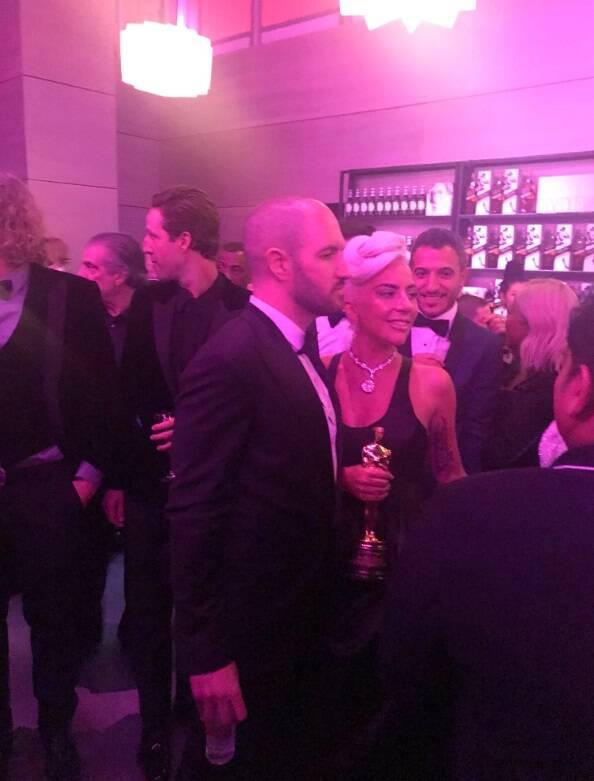 As melhores fotos do Oscar 2019. Foto: Reprodução/Twitter