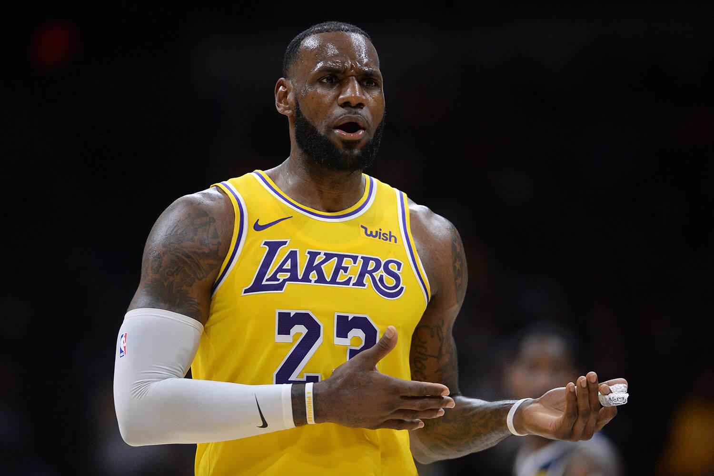 1 - LeBron James (Lakers/NBA). Foto: Divulgação