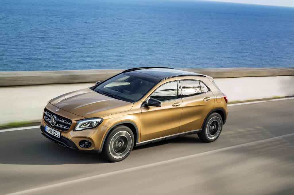 Mercedes-Benz GLA. Foto: Divulgaçãp/Mercedes-Benz