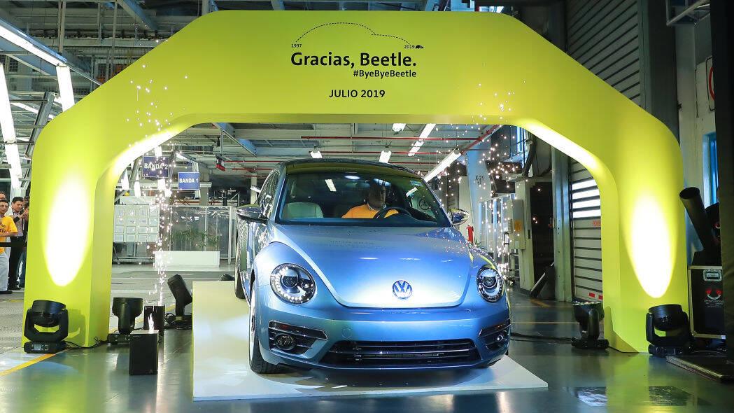 VW Fusca Wolfsburg Edition. Foto: Divulgação