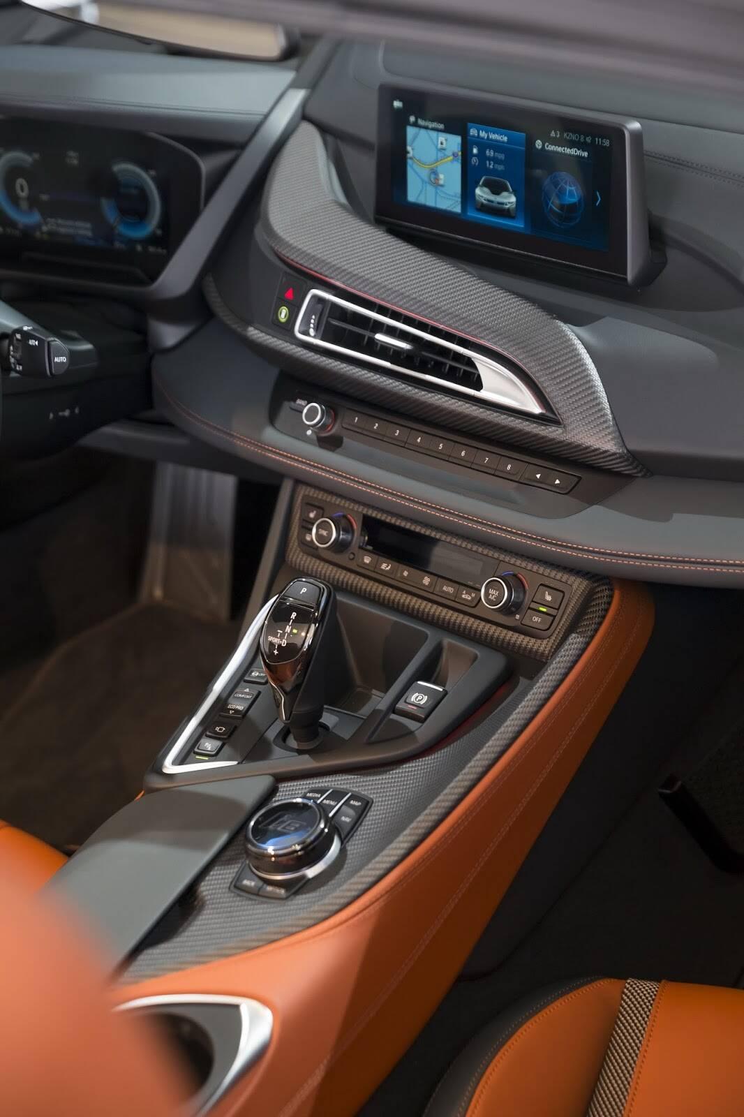 BMW I8. Foto: Divulgação