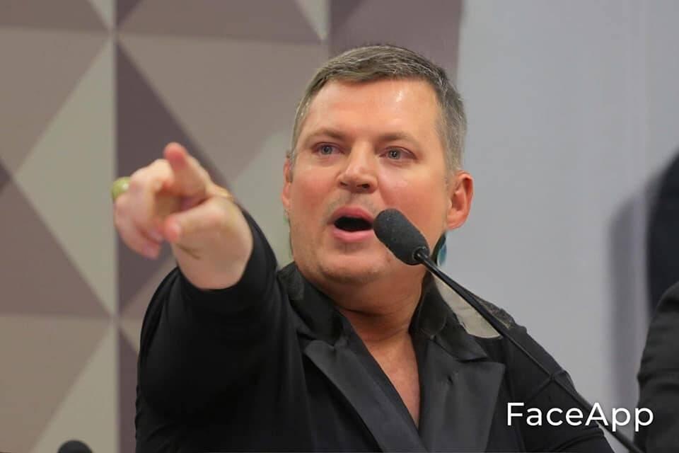 Joyciel helmans, o plagiador. Foto: Reprodução/Facebook
