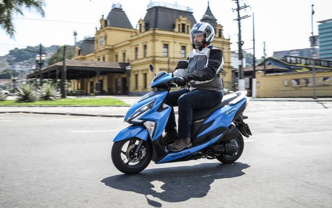 Honda Elite 125. Foto: Divulgação