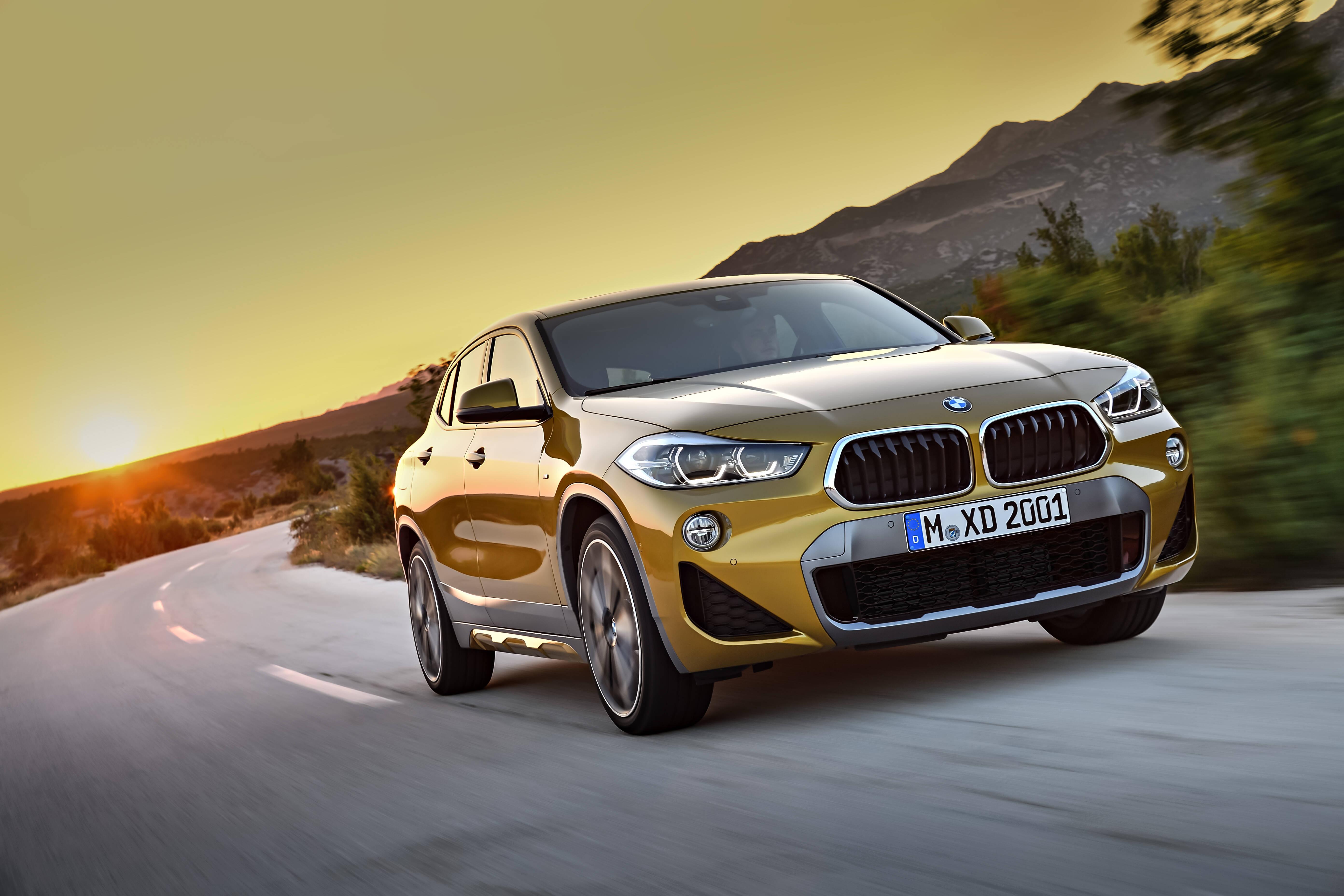 BMW X2: novo modelo tem forte apelo esportivo e se aproxima mais de um hatch do que de um SUV tradicional. Foto: Divulgação