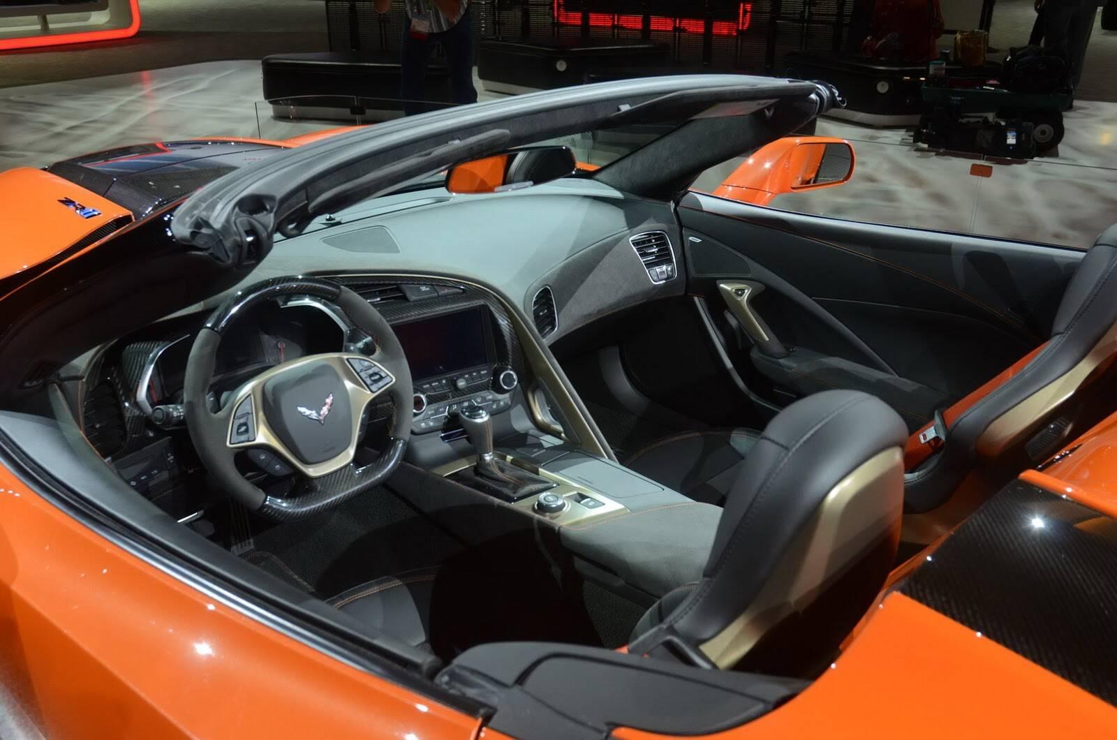 Chevrolet Corvette ZR1 conversível. Foto: Divulgação