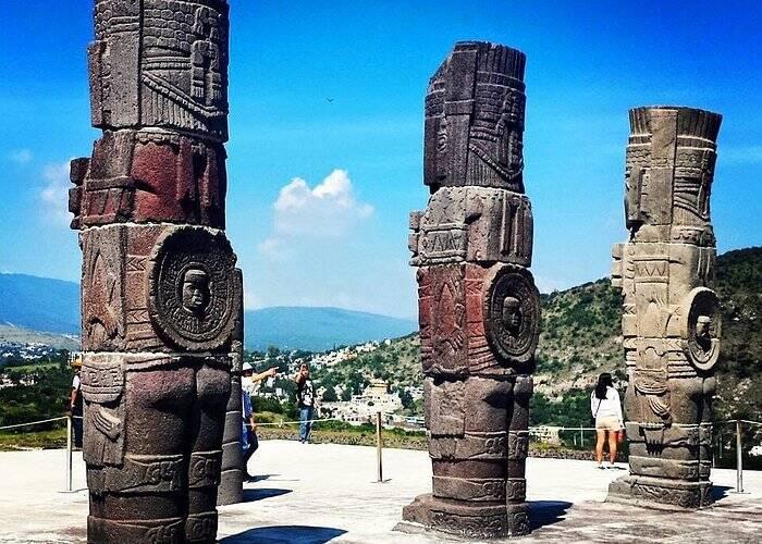 Ruínas Tula, no México. Foto: Reprodução