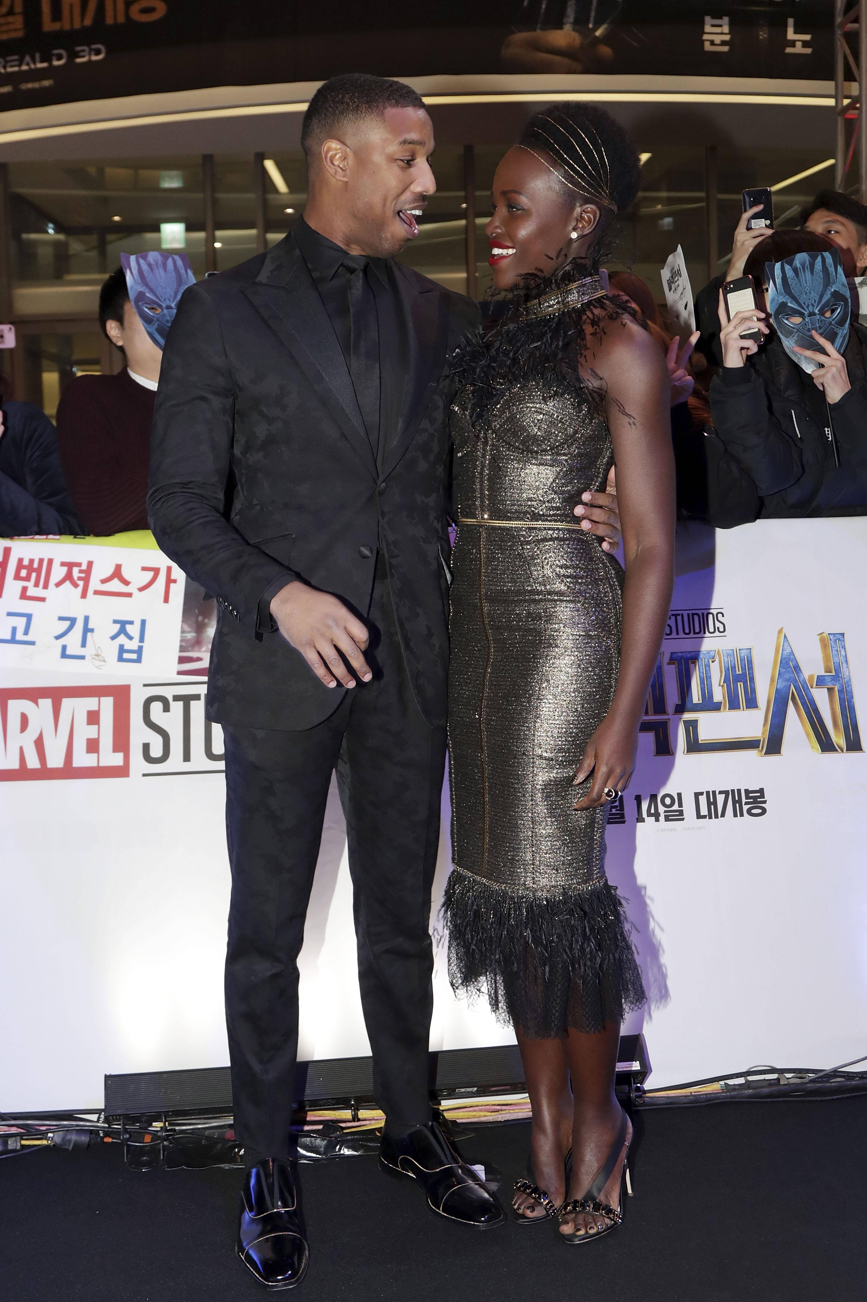 """Première asiática do filme """"Pantera Negra"""". Foto: Getty Image"""