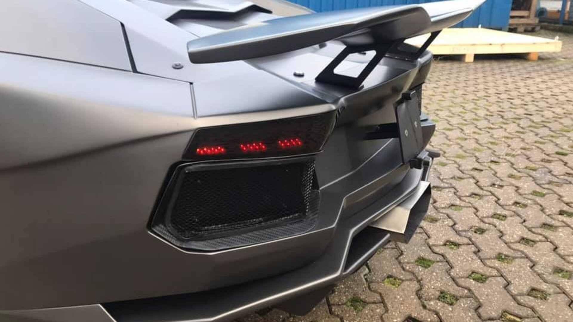 Moto Lamborghini Aventador. Foto: Divulgação