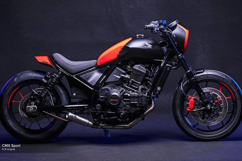 Honda CMX Sport e CMX Bobber. Foto: Divulgação