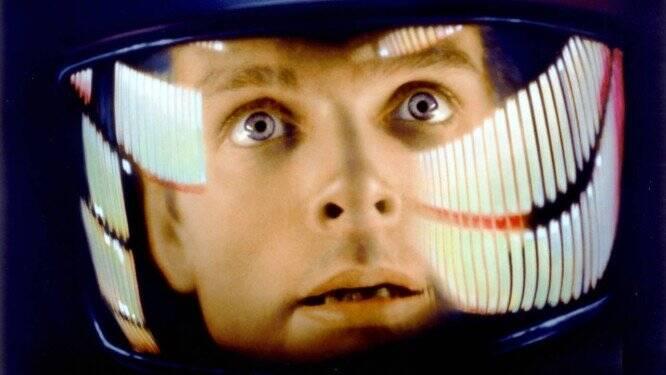 2001: Uma Odisséia no Espaço (1968). Foto: Reprodução