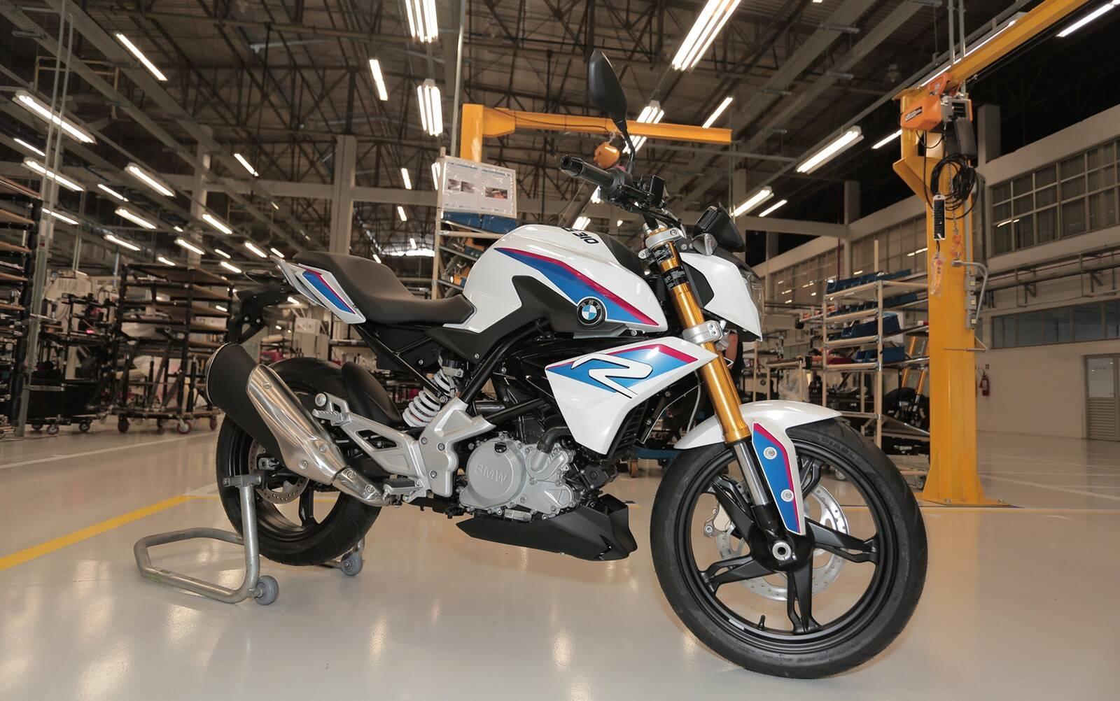 BMW G 310 R. Foto: Divulgação/BMW Motorrad