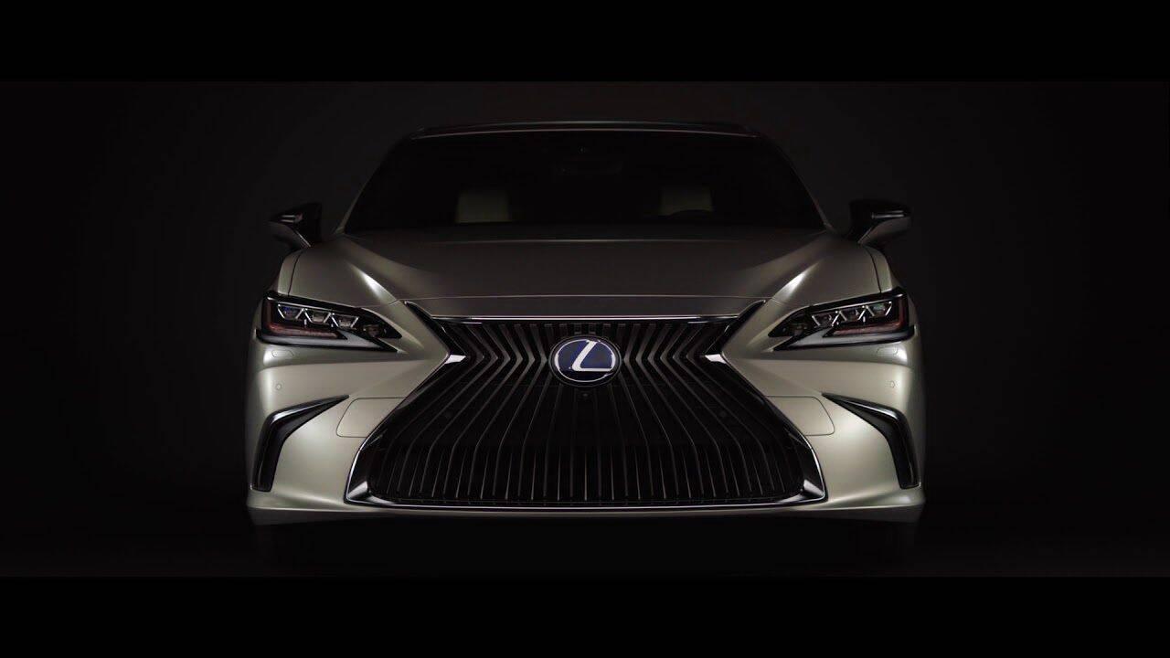 Lexus ES 2019. Foto: Divulgação