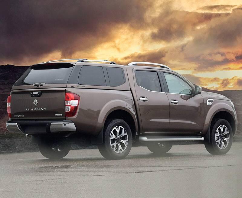 Renault Alaskan. Foto: Divulgação