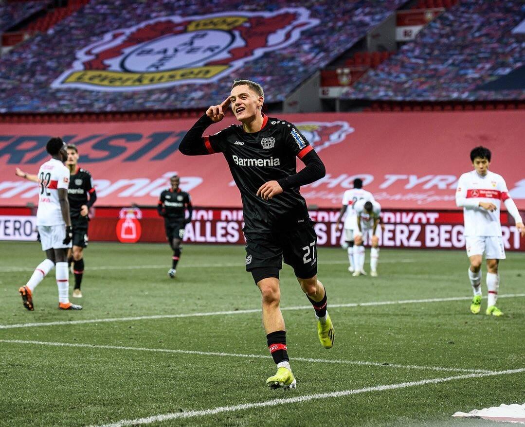 Florian Wirtz já marcou cinco gols na Bundesliga. Foto: Reprodução/Instagram