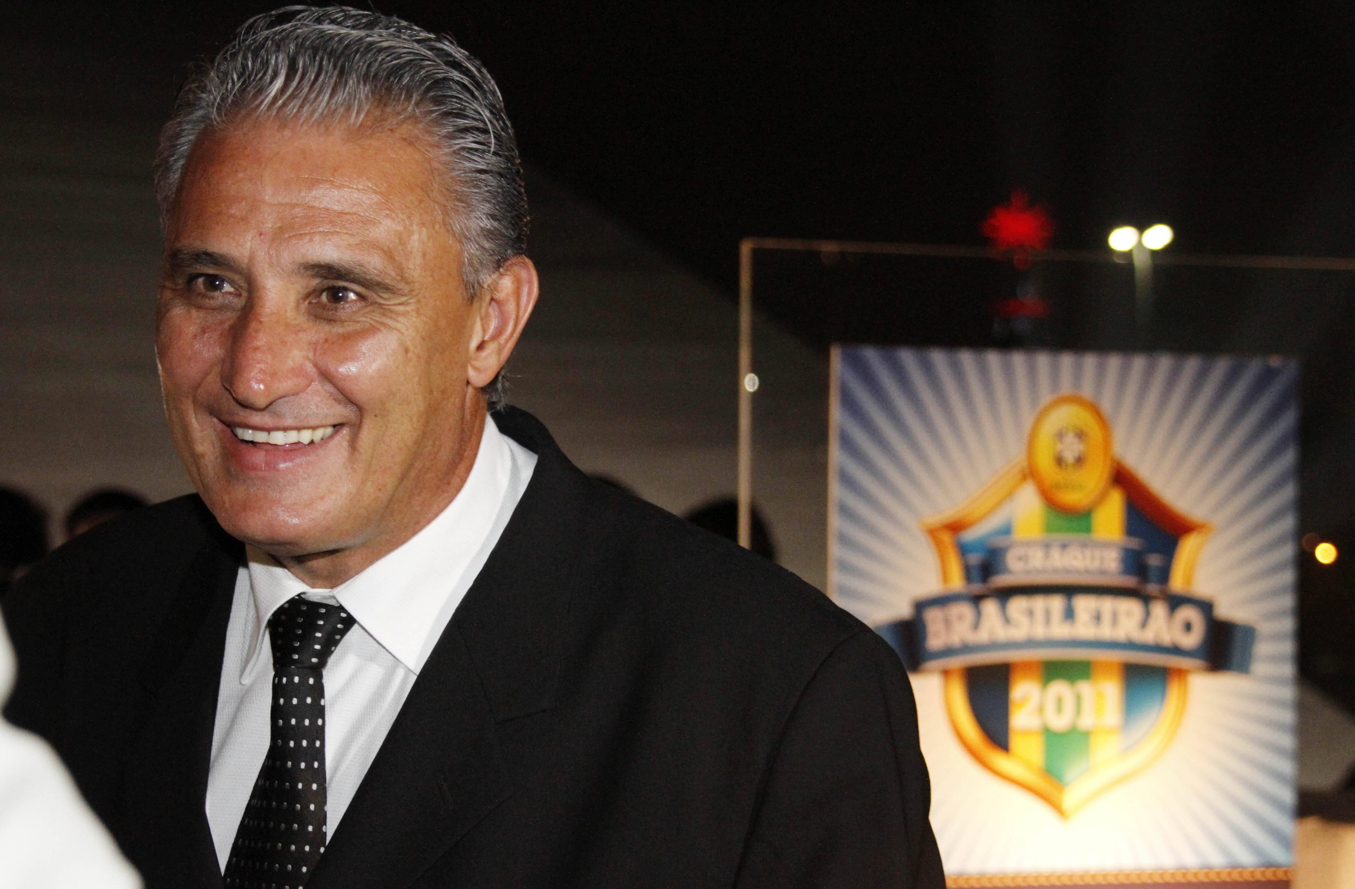 Tite foi o terceiro colocado no prêmio de melhor técnico do Brasileirão de 2011. Foto: Gazeta Press