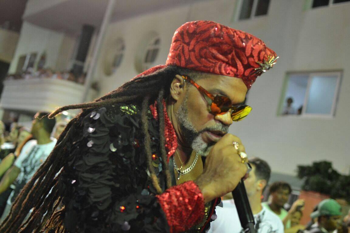 Carlinhos Brown em Salvador na terça (13). Foto: Carlinhos Brown Pablicio Vieira/ Agfpontes/ Divulgacao