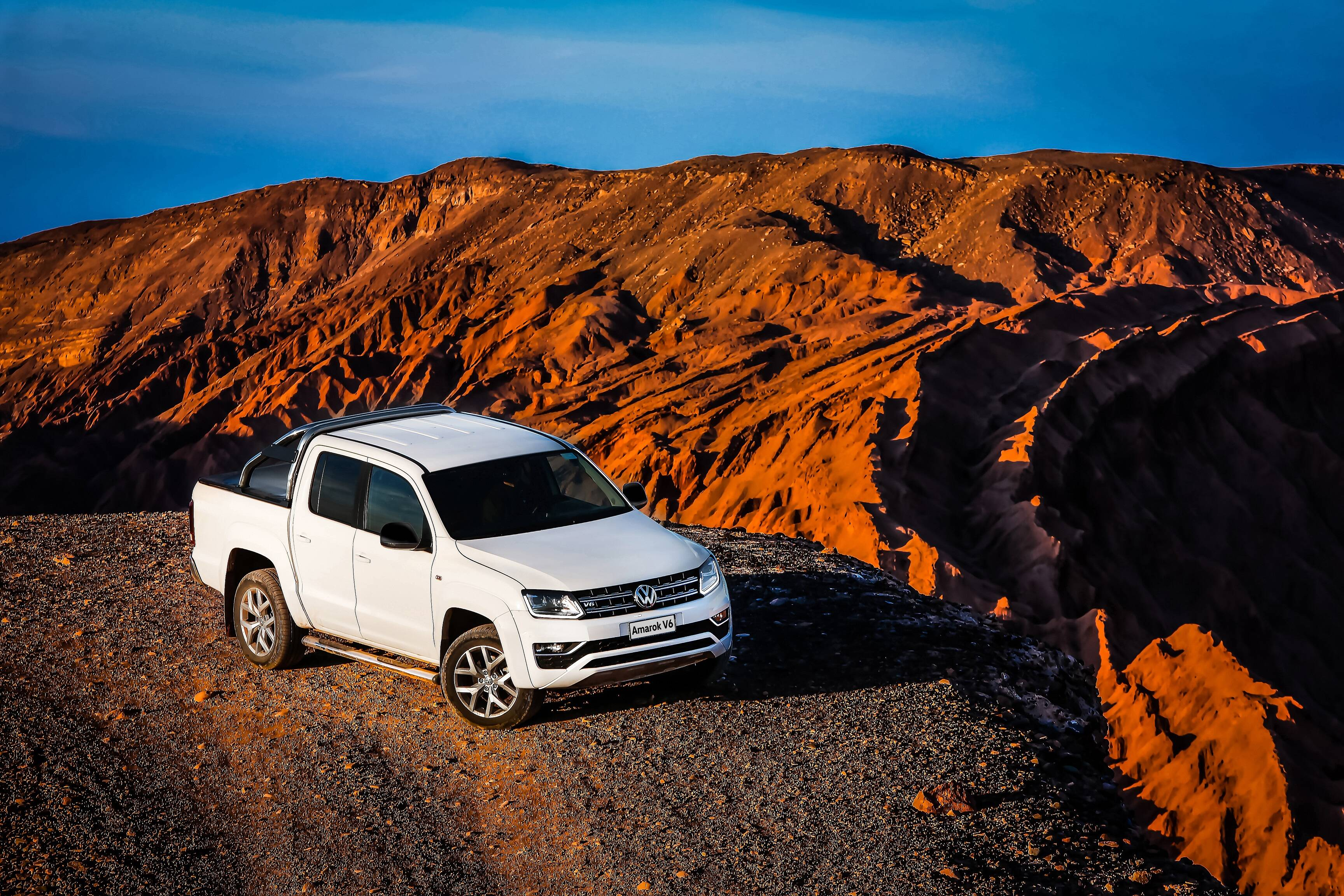 Volkswagen Amarok V6. Foto: Divulgação