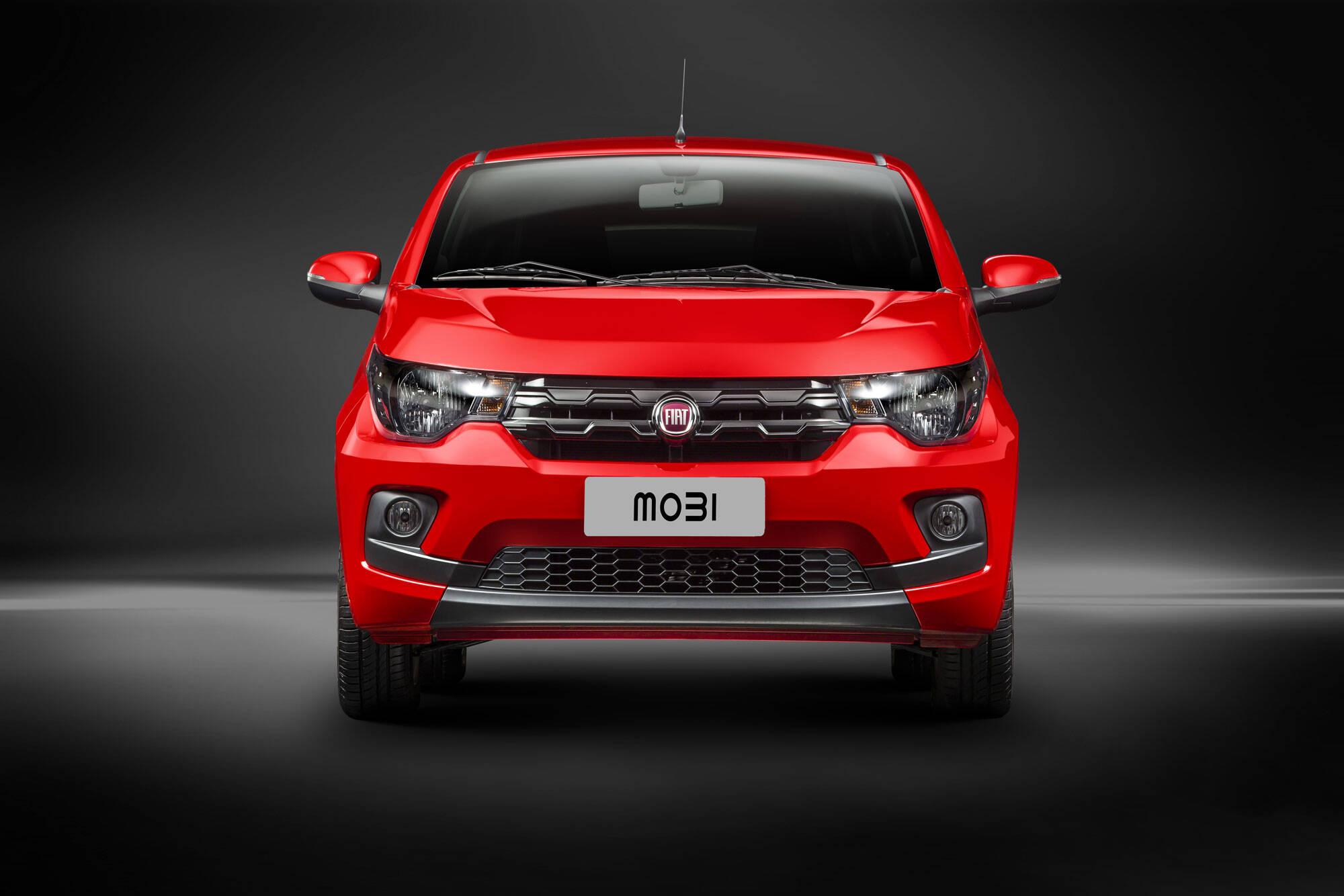 Fiat Mobi Drive GSR. Foto: Divulgação/Fiat-Chrysler Automóveis