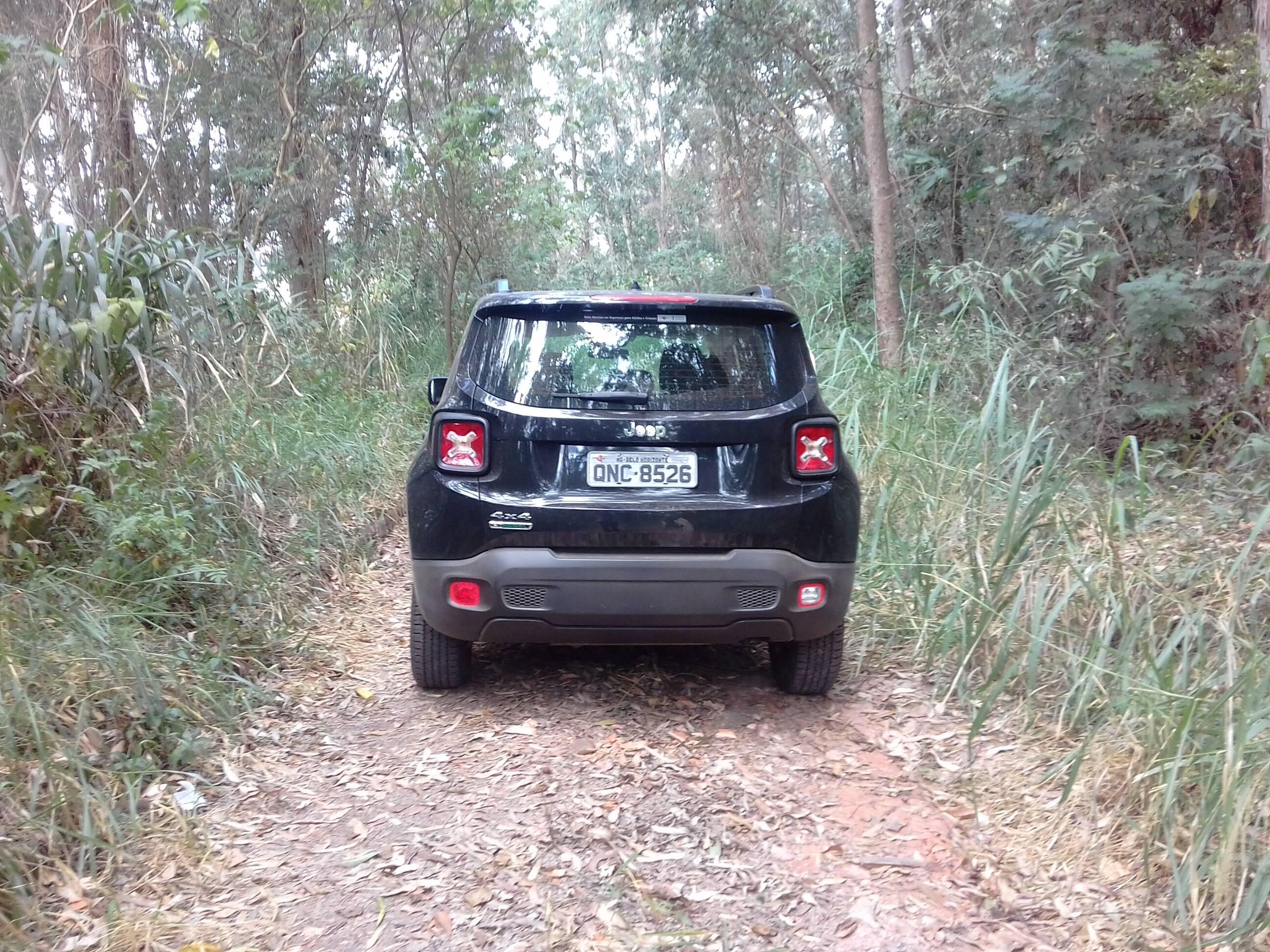 Jeep Renegade Custom Diesel. Foto: Carlos Guimarães/ iG
