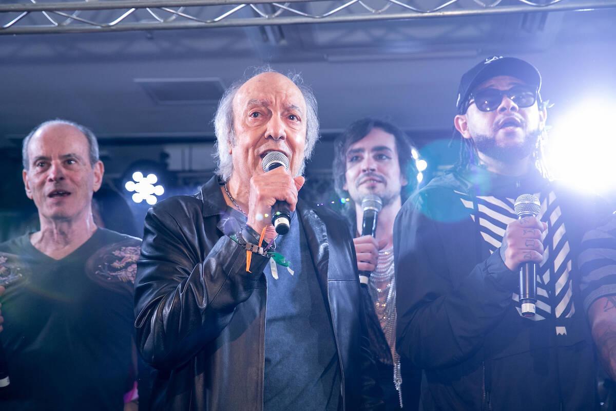 Famosos prestigiam homenagem para Erasmo Carlos. Foto: Crédito: Miguel Sá