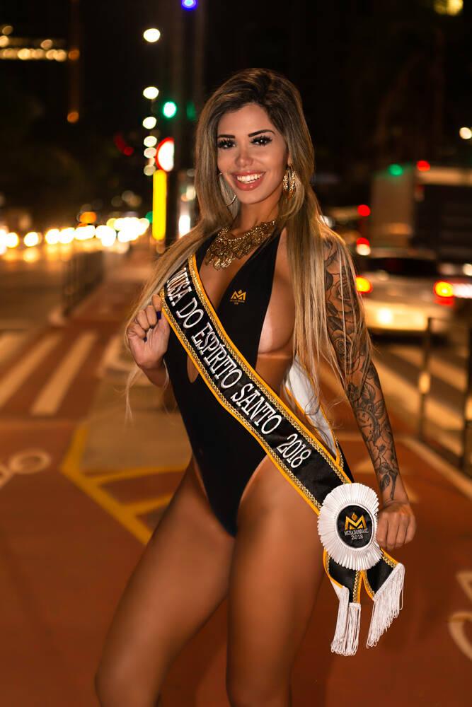 Jéssica Cristy posa sensual antes da final do Musa do Brasil. Foto: Fotos: Daniel Céspedes / M2 Mídia
