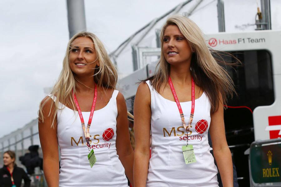 Grid Girls deram as caras no GP da Austrália e embelezaram a Fórmula 1 . Foto: Reprodução/Auto Motor und Sport