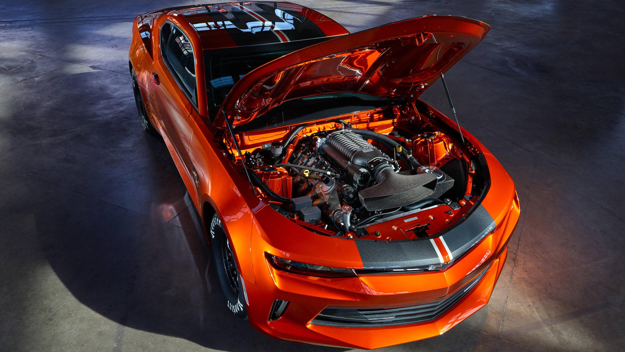 Chevrolet Camaro Hot Wheels 2018. Foto: Divulgação