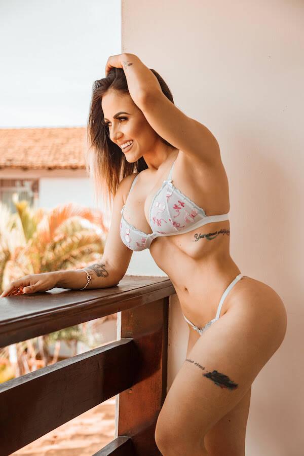 Michele Neres é a representante do Pará no concurso Musa do Brasil 2018. Foto: Armando Abdias / M2 Mídia