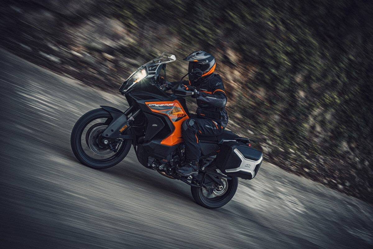 KTM 1290 Super Adventure S 2021. Foto: Divulgação