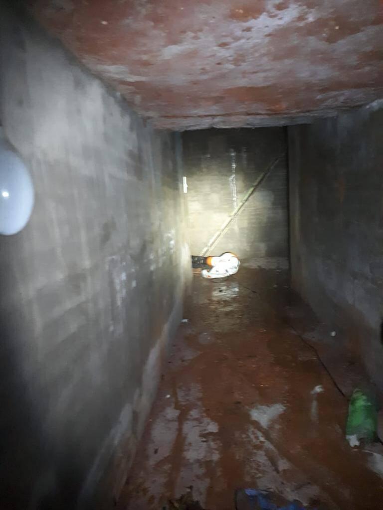 Túnel de fuga possuia 50 metros de extensão. Foto: Divulgação/COE-PMSP