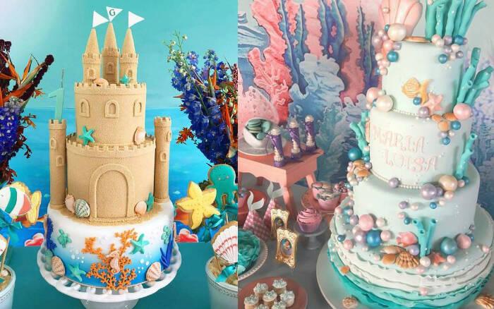 Bolo deve estar de acordo com o tema e as cores da festa, mas um ponto é o principal: ele deve ser gostoso. Foto: PINTEREST/REPRODUÇÃO