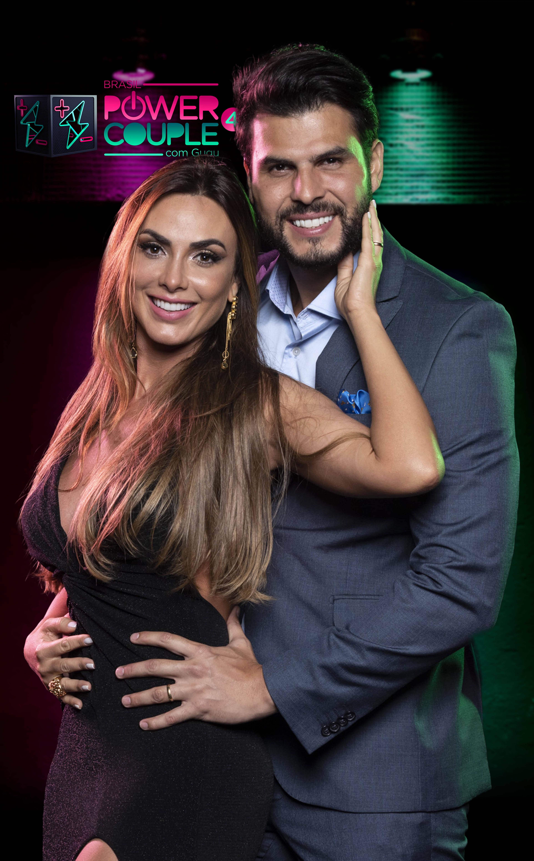 """Participantes do """"Power Couple"""" 2019. Foto: Edu Moraes/Record TV"""