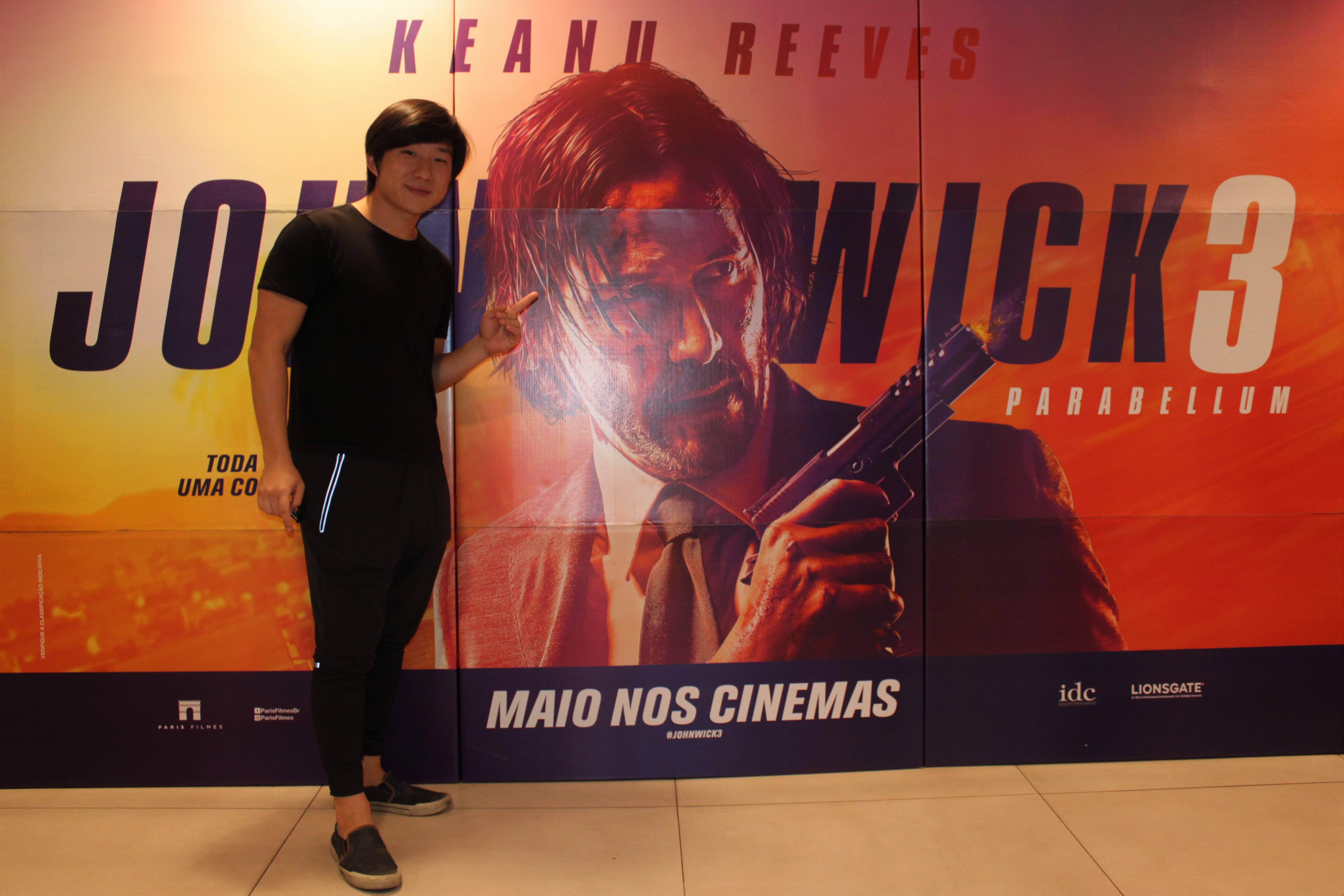 """Pré-estreia de """"John Wick 3: Parabellum"""". Foto: Divulgação"""