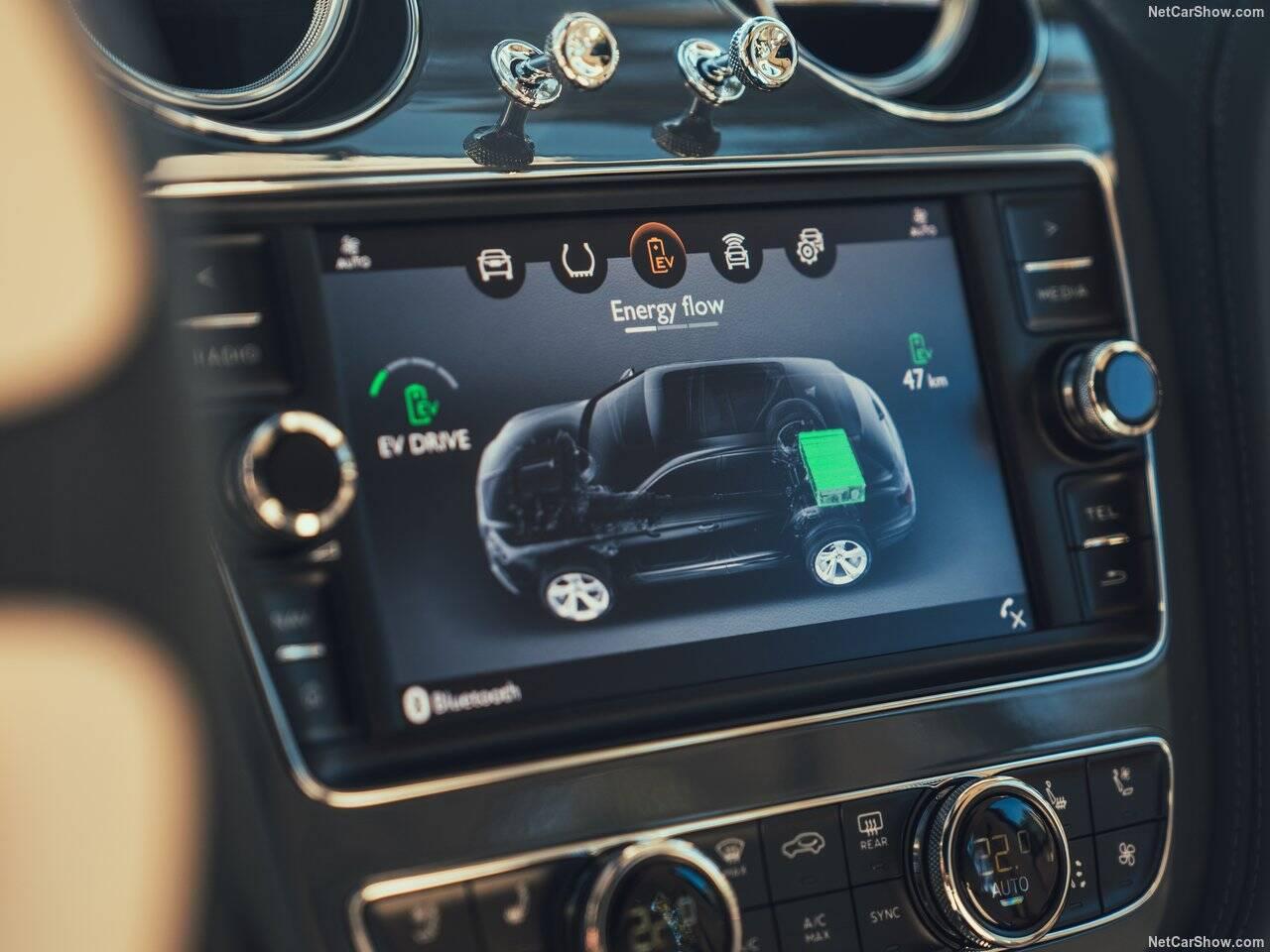 Bentley Bentayga Hybrid. Foto: Divulgação