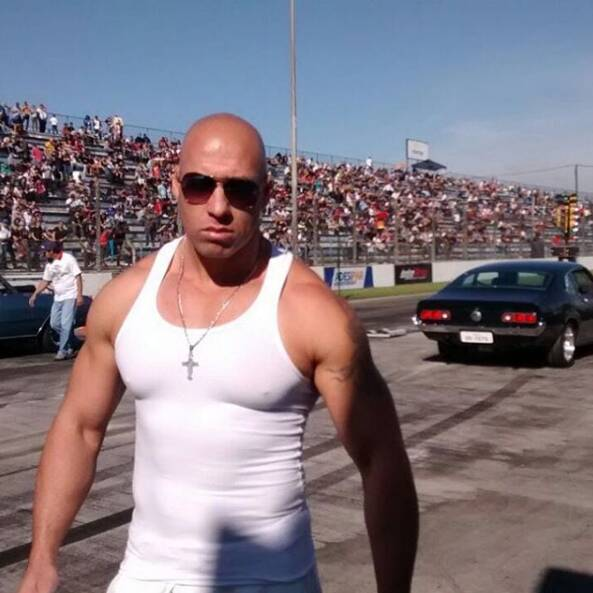 Marcos Salvo, sósia do Vin Diesel. Foto: Reprodução/ Instagram
