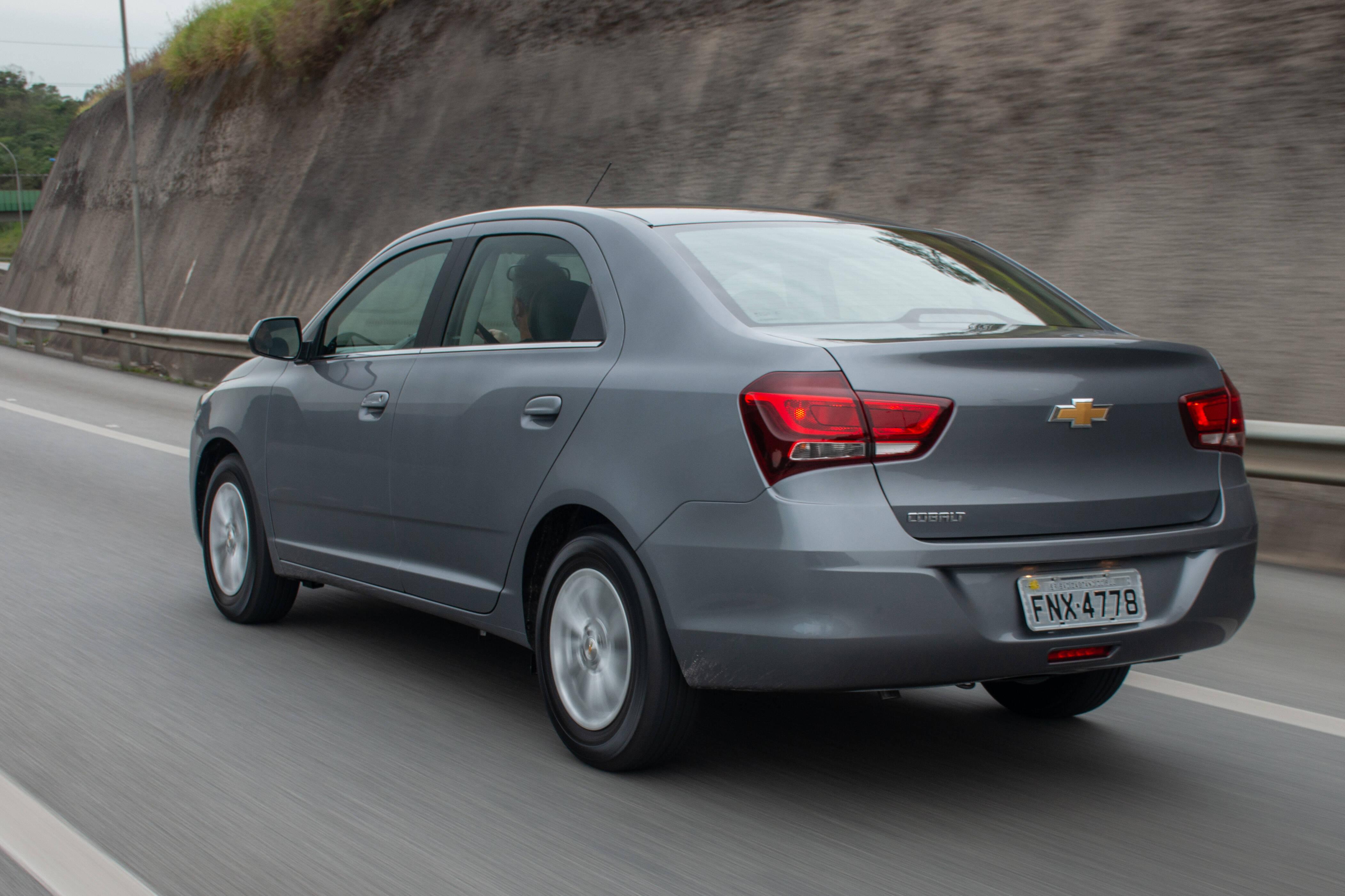 Chevrolet Cobalt 2019. Foto: Divulgação