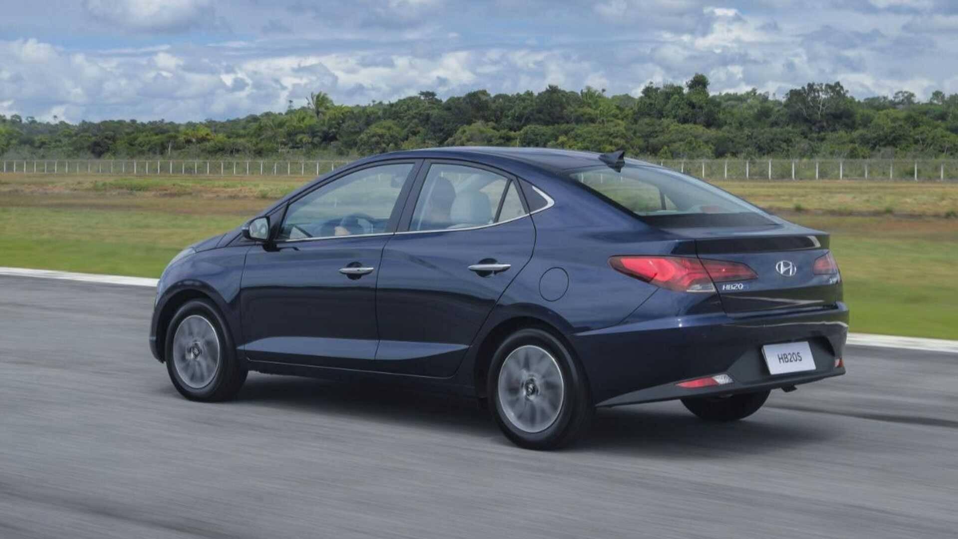 Hyu Hyundai HB20. Foto: Divulgação