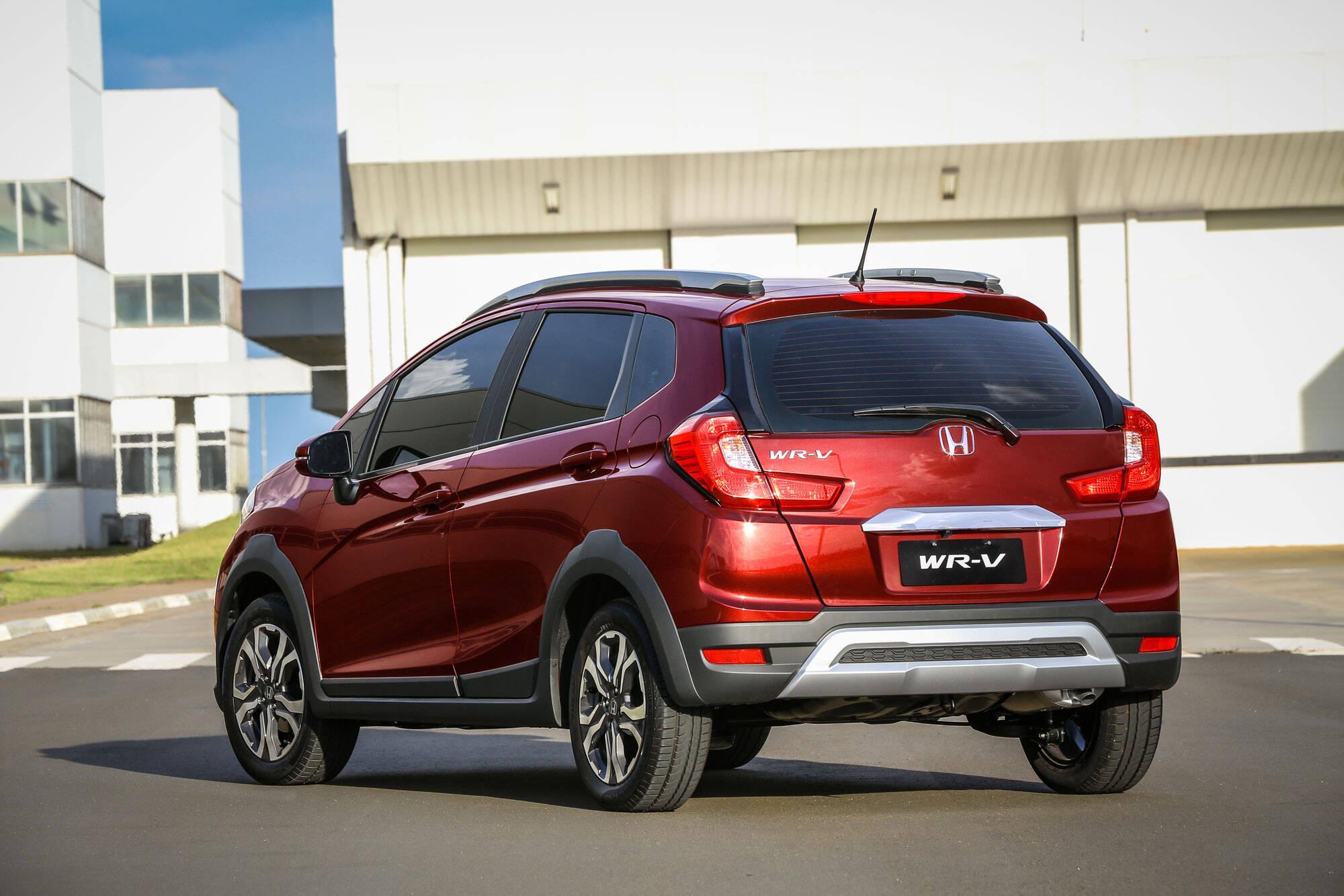 Honda WR-V. Foto: Divulgação