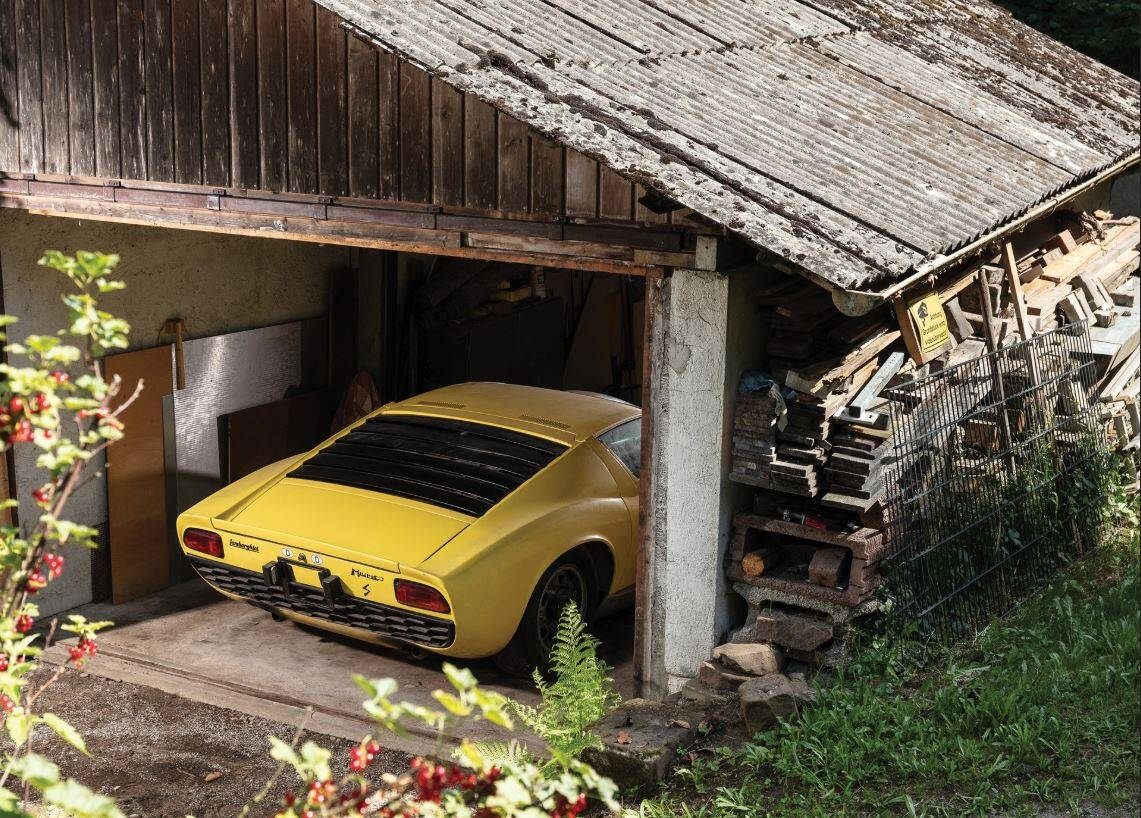 Lamborghini Miura. Foto: Divulgação