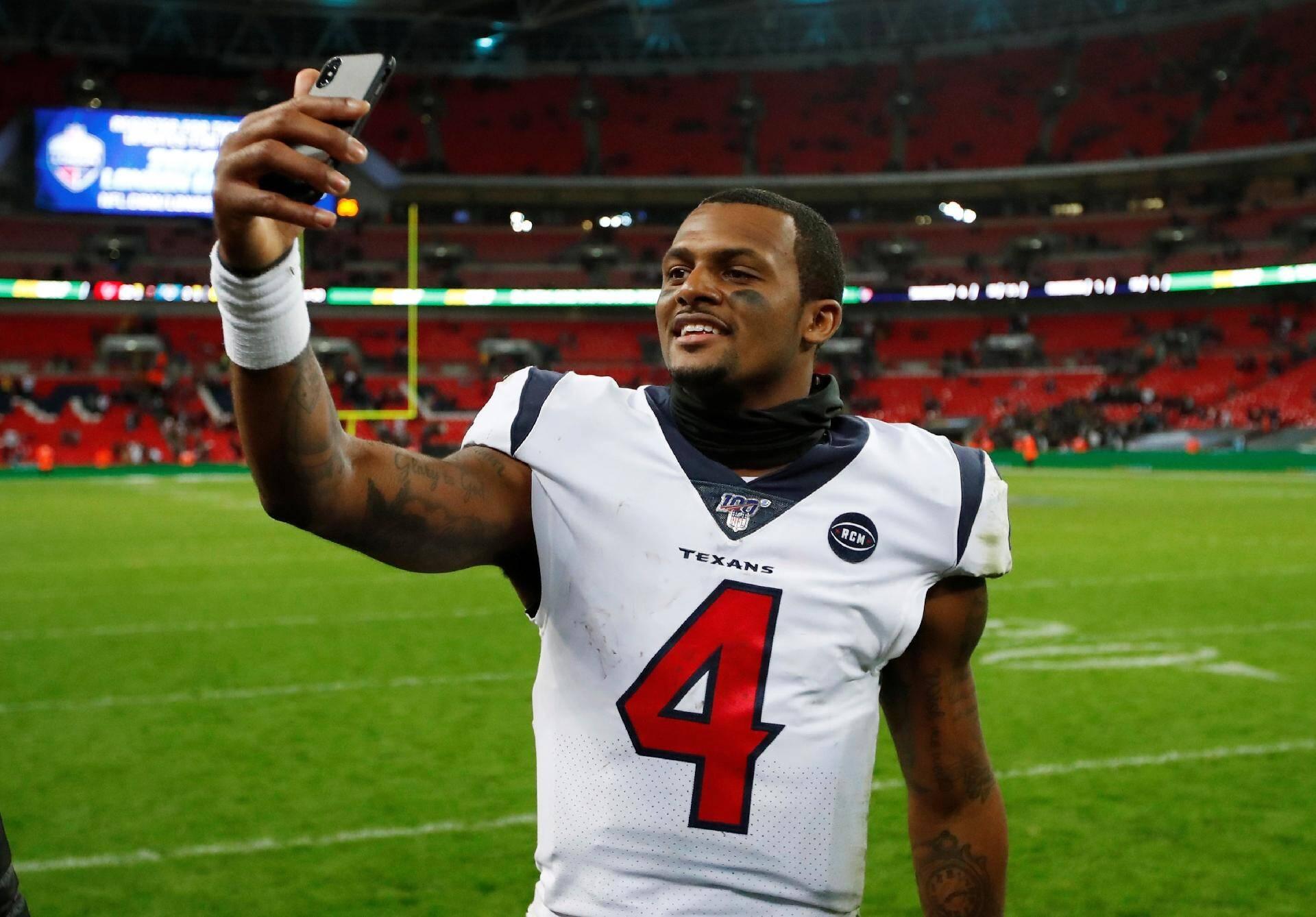 14 - Deshaun Watson (Houston Texans/NFL). Foto: Instagram