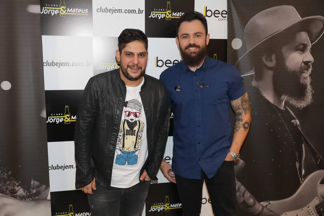 Famosos marcam presença no show exclusivo de Jorge & Matheus. Foto: Créditos: Ali Karakas