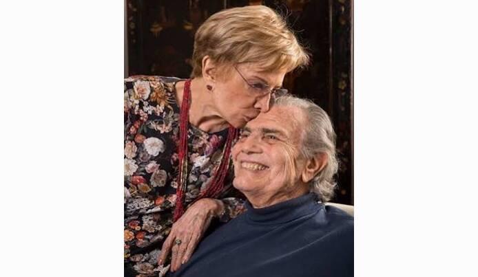 Glória Menezes e Tarcísio Meira. Foto: Reprodução/ Instagram