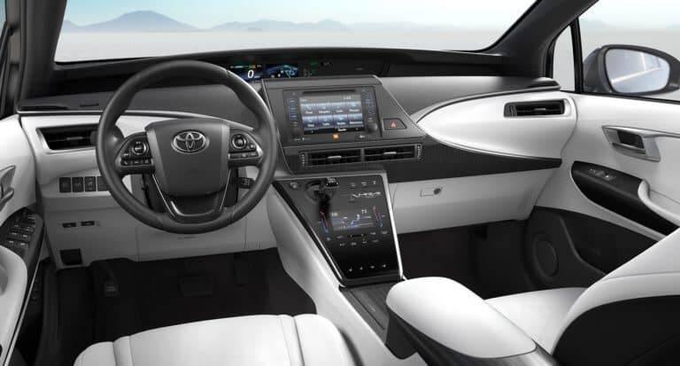 Toyota Mirai. Foto: Divulgação