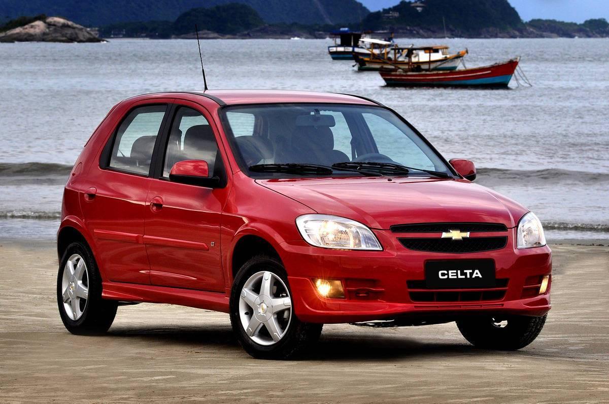 Chevrolet Celta. Foto: Divulgação