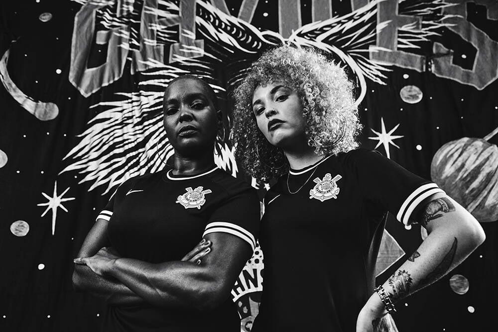 Nova camisa do Corinthians em homenagem à torcida organizada Gaviões da Fiel. Foto: Divulgação/Nike