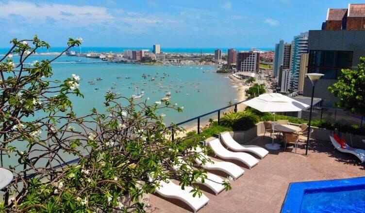 Hotel Gran Marquise fica na região de Mucuripe. Foto: Reprodução