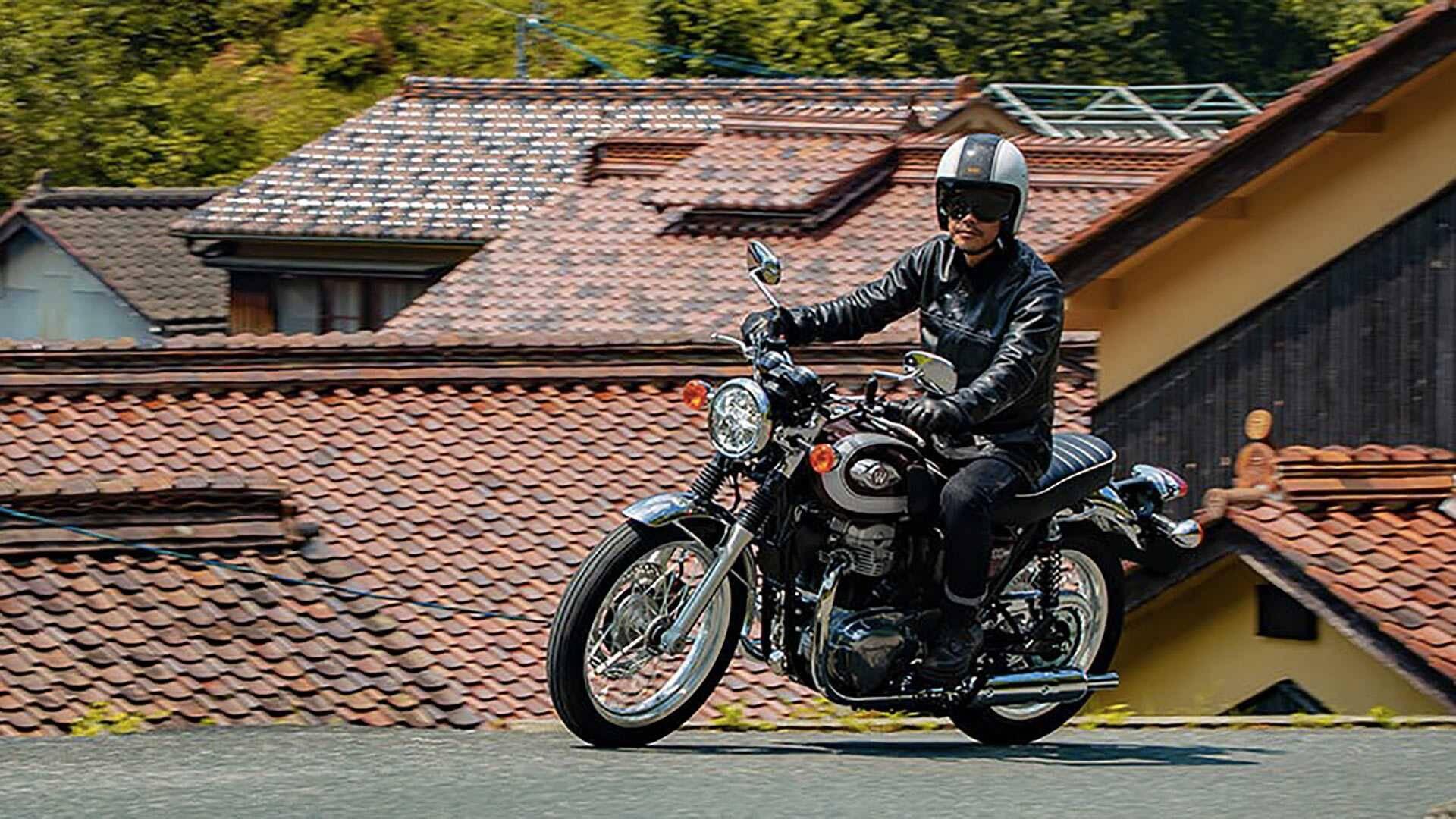 Kawasaki W800. Foto: Divulgação