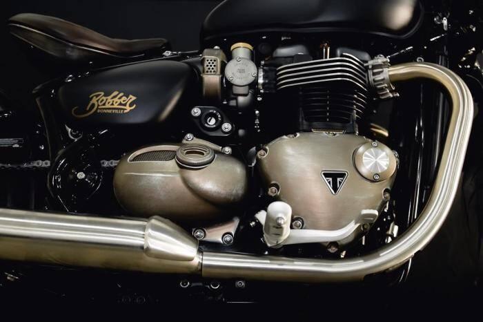 Triumph Bobber Limited. Foto: Divulgação